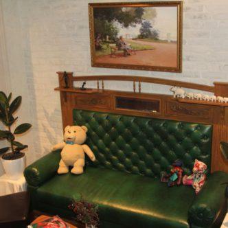 Покраска дивана