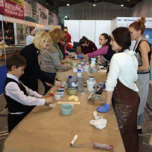 Делаем елки на выставке Экспо-Волга 2016