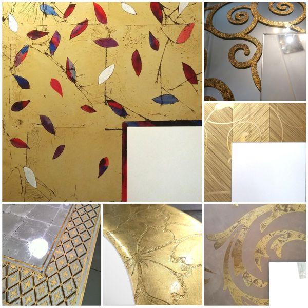 Образцы золотых рам
