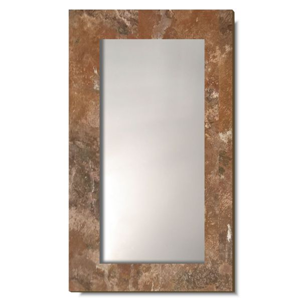 Зеркало Лофт. Рама — имитация ржавчины